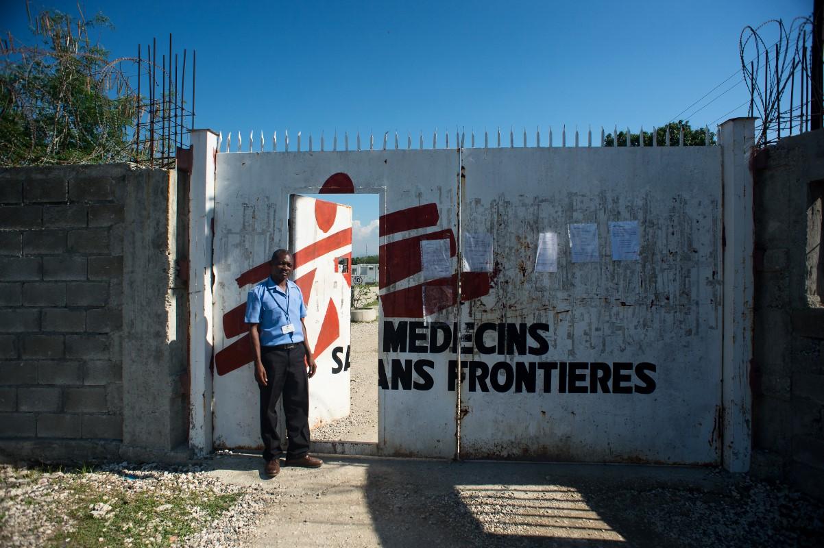 MSF Nap Kenbe Hospital in Tabarre